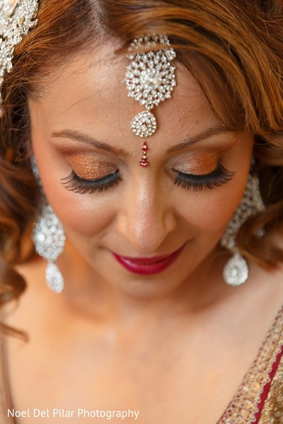 Makeup in Virginia Beach, VA Indian Fusion Wedding by Noel Del Pilar Photography