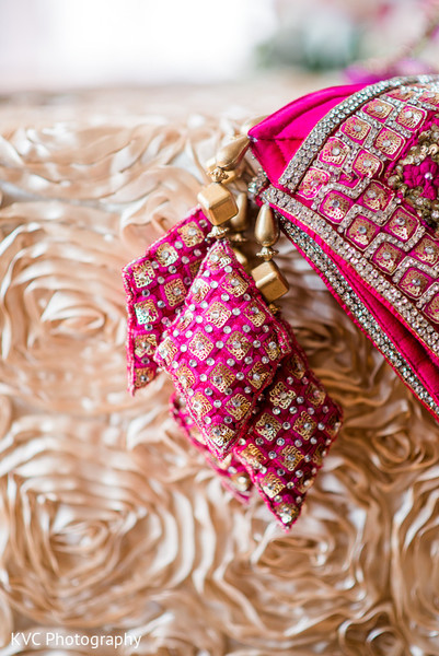 Reception lengha in Duluth, GA Indian Fusion Wedding by KVC Photography