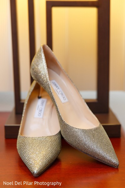 Shoes in Virginia Beach, VA Indian Fusion Wedding by Noel Del Pilar Photography
