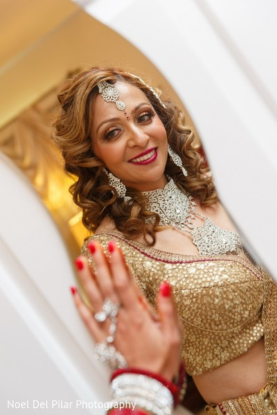 Getting Ready in Virginia Beach, VA Indian Fusion Wedding by Noel Del Pilar Photography