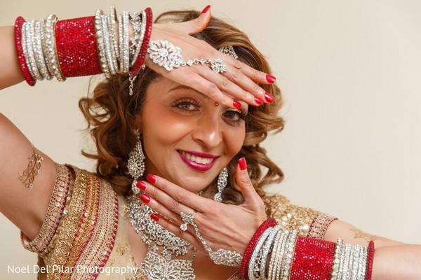 Getting Ready in Virginia Beach, VA Indian Fusion Wedding by Noel Del Pilar Photography