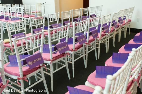 Ceremony Decor in Virginia Beach, VA Indian Fusion Wedding by Noel Del Pilar Photography