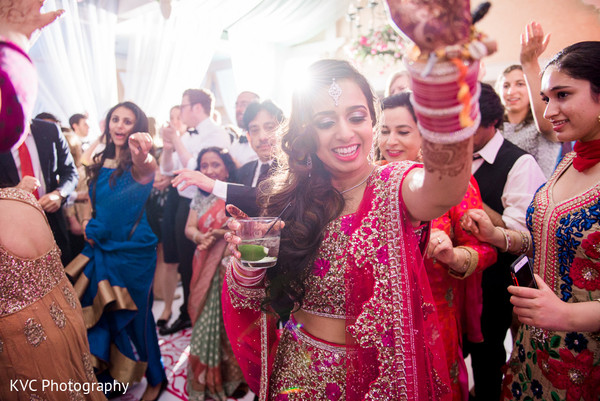 Reception in Duluth, GA Indian Fusion Wedding by KVC Photography