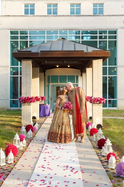Wedding Portrait in Virginia Beach, VA Indian Fusion Wedding by Noel Del Pilar Photography