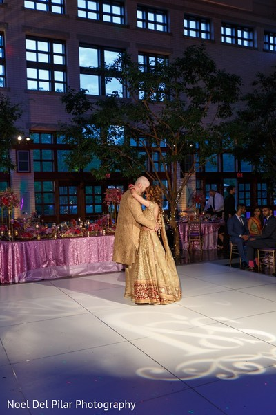 reception,indian wedding reception,fusion wedding,fusion indian wedding,first dance
