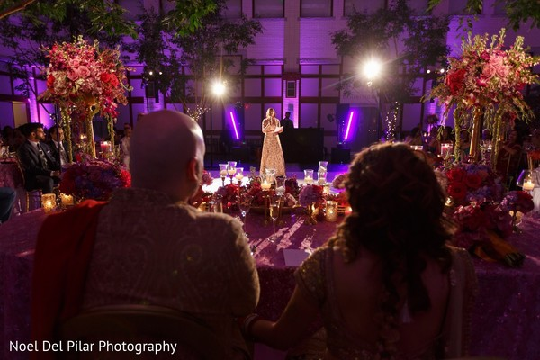 Reception in Virginia Beach, VA Indian Fusion Wedding by Noel Del Pilar Photography