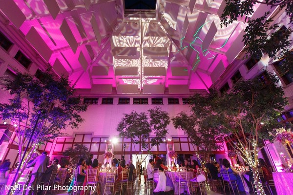Lighting in Virginia Beach, VA Indian Fusion Wedding by Noel Del Pilar Photography