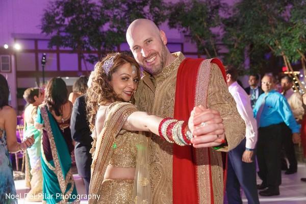 Reception in Virginia Beach, VA Indian Fusion Wedding by Noel Del Pilar Photography