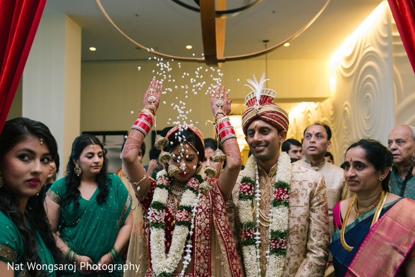 Indian wedding ceremony in Arlington, VA Indian Wedding by Nat Wongsaroj Photography