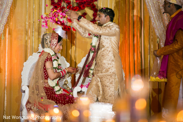 Indian wedding ceremony in Arlington, VA Indian Wedding by Nat Wongsaroj Photography