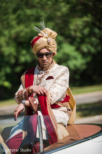 Baraat in Whippany, NJ Indian Wedding by Lightyear Studio