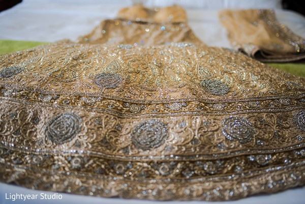 Bridal lengha in Whippany, NJ Indian Wedding by Lightyear Studio