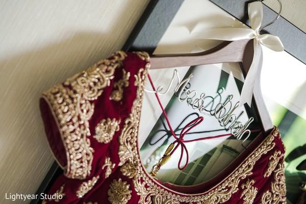 Bridal lengha in Whippany, NJ Indian Wedding by Lightyear Studio