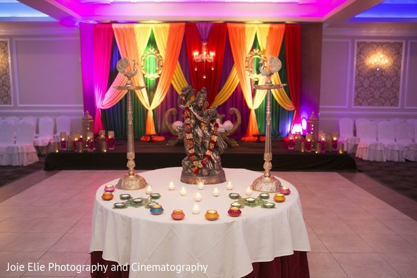 Pre-Wedding Decor in Cinnaminson, NJ Indian Wedding by Joie Elie Photography & Cinematography