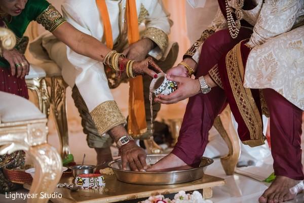 Indian wedding ceremony in Whippany, NJ Indian Wedding by Lightyear Studio