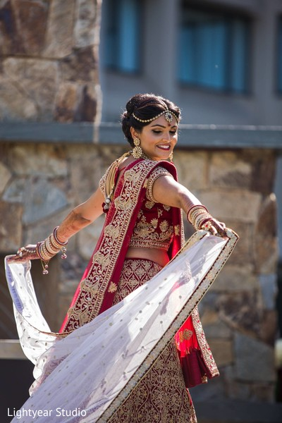 Indian bride in Whippany, NJ Indian Wedding by Lightyear Studio