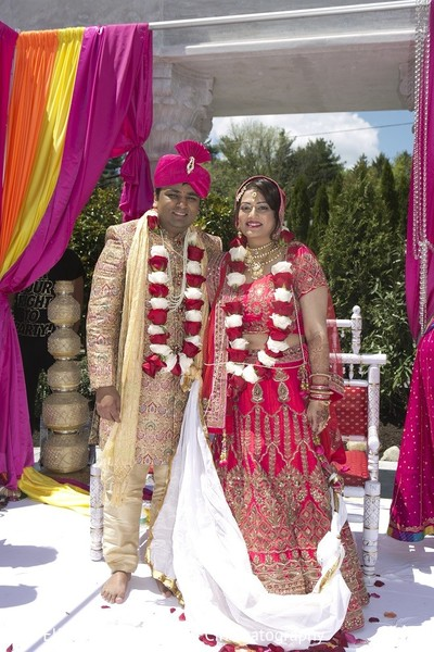 Ceremony in Cinnaminson, NJ Indian Wedding by Joie Elie Photography & Cinematography