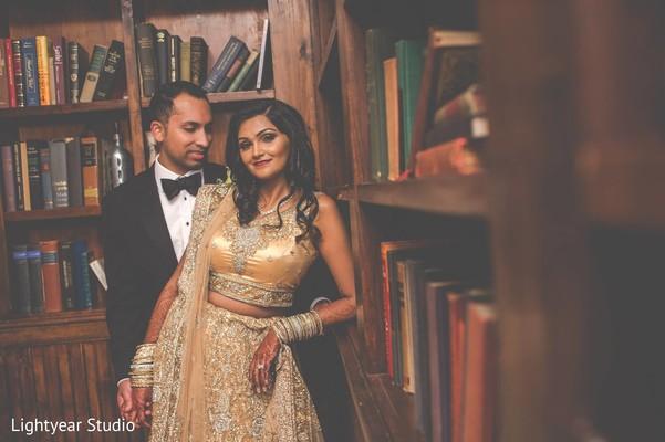 Reception portraits in Whippany, NJ Indian Wedding by Lightyear Studio