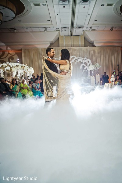 Reception in Whippany, NJ Indian Wedding by Lightyear Studio