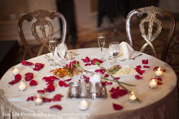 Reception Decor in Cinnaminson, NJ Indian Wedding by Joie Elie Photography & Cinematography
