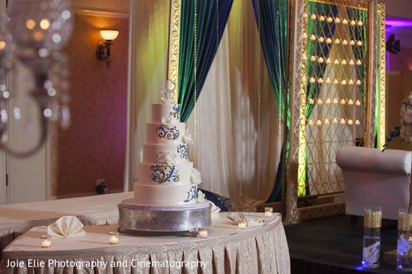 Wedding Cake in Cinnaminson, NJ Indian Wedding by Joie Elie Photography & Cinematography