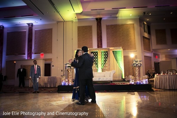 Reception in Cinnaminson, NJ Indian Wedding by Joie Elie Photography & Cinematography