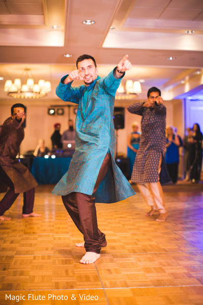Pre-Wedding Celebration in Mahwah, NJ Indian Fusion Wedding by Magic Flute Photo & Video