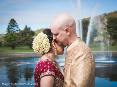 first look,first look portraits,fusion wedding,fusion indian wedding,updo