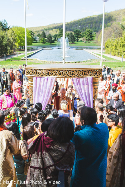 Baraat in Mahwah, NJ Indian Fusion Wedding by Magic Flute Photo & Video