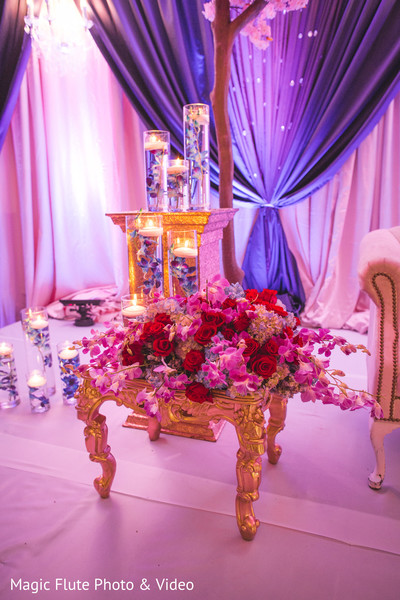 reception decor,floral and decor