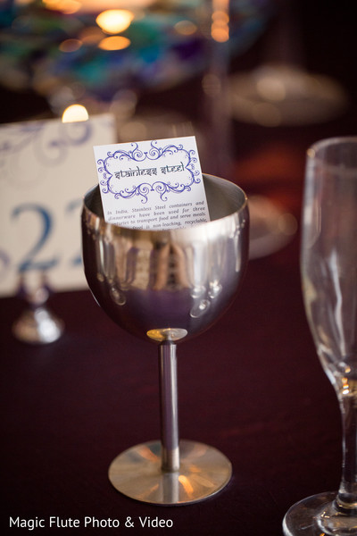 Decor Details in Mahwah, NJ Indian Fusion Wedding by Magic Flute Photo & Video