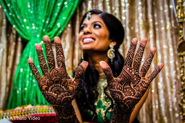 Mehndi Party in Parker, TX Indian Wedding by A&A Photo Video