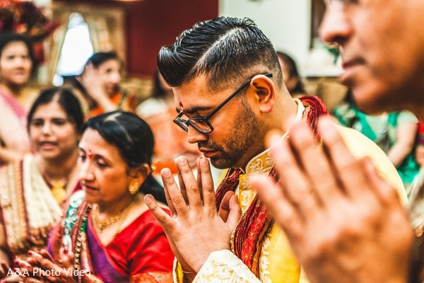 Pre-Wedding Ceremony in Parker, TX Indian Wedding by A&A Photo Video