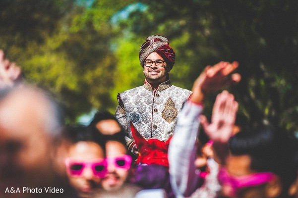 Baraat in Parker, TX Indian Wedding by A&A Photo Video