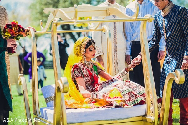 Parker, TX Indian Wedding by A&A Photo Video | Maharani ...