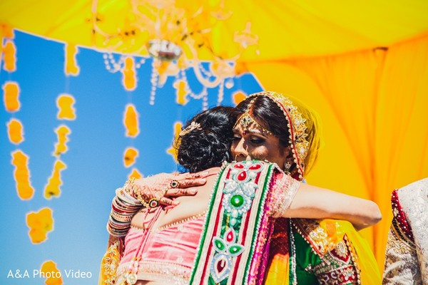 Ceremony in Parker, TX Indian Wedding by A&A Photo Video