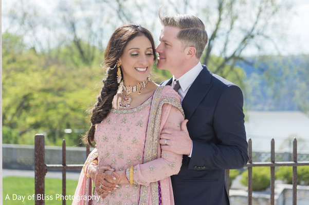 Reception portraits in New York, NY Pakistani Fusion Wedding by A Day of Bliss Wedding Photography