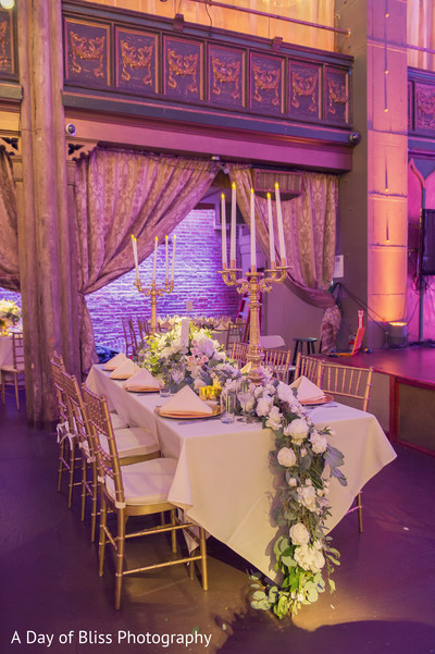Walima decor in New York, NY Pakistani Fusion Wedding by A Day of Bliss Wedding Photography