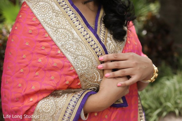 Dupatta in Styled Indian Wedding Inspiration Shoot by Life Long Studios