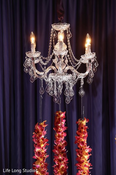 Lighting & Floral in Styled Indian Wedding Inspiration Shoot by Life Long Studios