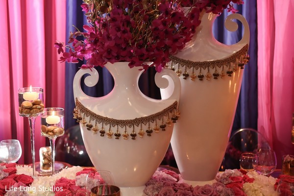 Floral & Decor in Styled Indian Wedding Inspiration Shoot by Life Long Studios