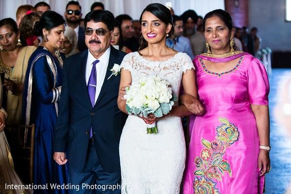 Ceremony in Sacramento, CA Indian Fusion Wedding by International Wedding Photography