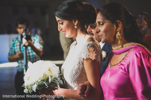 Ceremony in Sacramento, CA Indian Fusion Wedding by International Wedding Photography