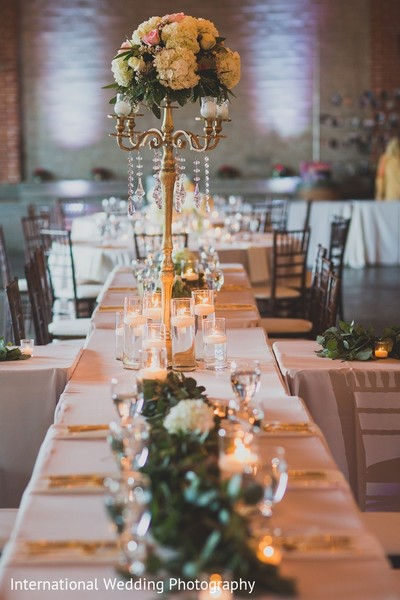 Floral & Decor in Sacramento, CA Indian Fusion Wedding by International Wedding Photography