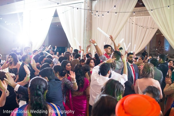 Reception in Sacramento, CA Indian Fusion Wedding by International Wedding Photography
