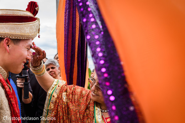Baraat in Potomac, MD Indian Fusion Wedding by ChristopherJason Studios