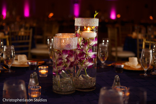 Floral & Decor in Potomac, MD Indian Fusion Wedding by ChristopherJason Studios