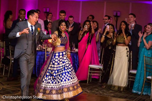 Reception in Potomac, MD Indian Fusion Wedding by ChristopherJason Studios