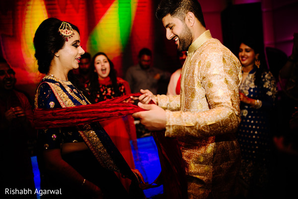Sangeet in Ludhiana, India Sikh Wedding by Rish Photography