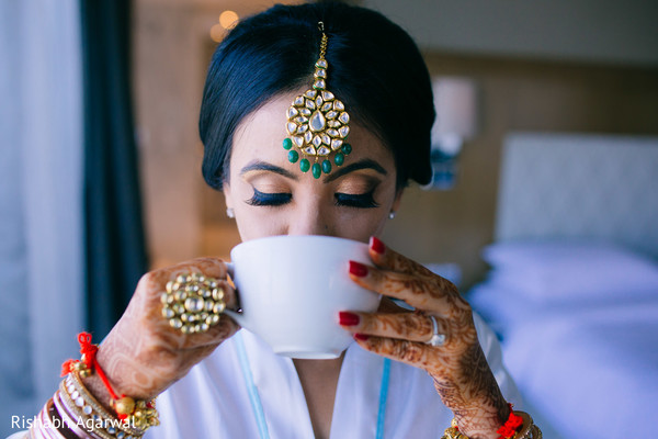 Getting Ready in Ludhiana, India Sikh Wedding by Rish Photography